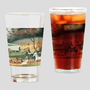 Noahs Ark Drinking Glass