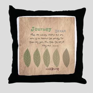 Retired Teacher Quote Aristotle Throw Pillow