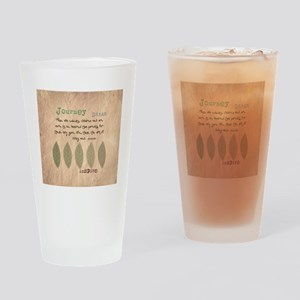 retired teacher INSPIRE PILLOW Drinking Glass