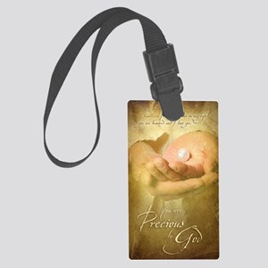 You are precious to God Large Luggage Tag