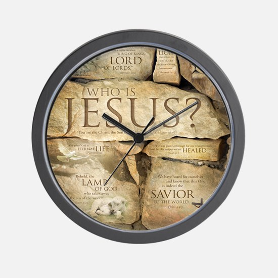 Names of Jesus Christ Wall Clock