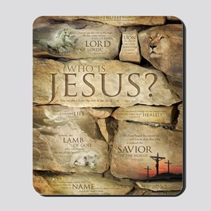Names of Jesus Christ Mousepad