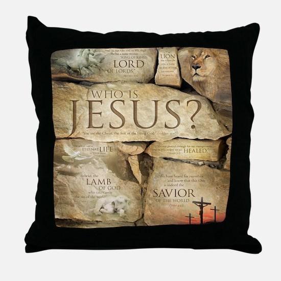 Names of Jesus Christ Throw Pillow