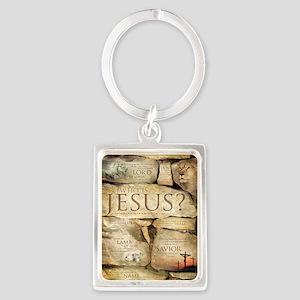 Names of Jesus Christ Portrait Keychain