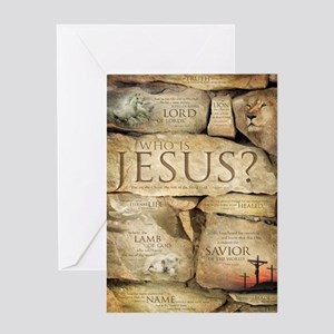 Christian greeting cards cafepress names of jesus christ greeting card m4hsunfo