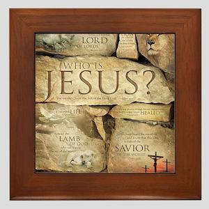 Names of Jesus Christ Framed Tile
