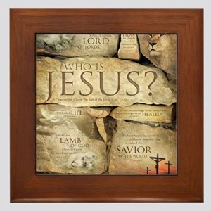 Names Of Jesus Christ Framed Tile