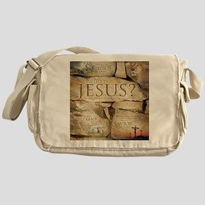 Names of Jesus Christ Messenger Bag