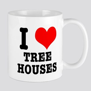 I Heart (Love) Treehouses Mug
