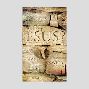 Names of Jesus Christ Sticker (Rectangle)