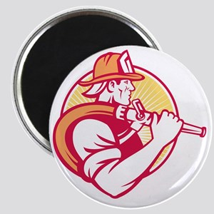 Fireman Firefighter Emergency Worker Magnet