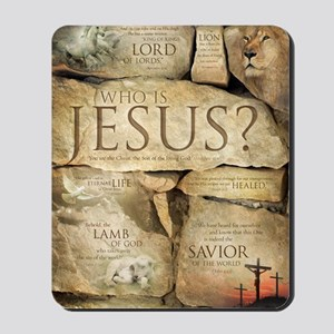 Names of Jesus Christ Mousepad