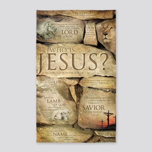 Names of Jesus Christ 3'x5' Area Rug