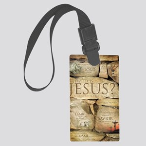 Names of Jesus Christ Large Luggage Tag