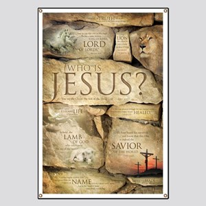 Names of Jesus Christ Banner