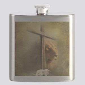 Lion of Judah, Lamb of God Flask