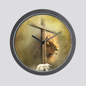 Lion of Judah, Lamb of God Wall Clock