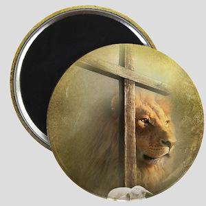 Lion of Judah, Lamb of God Magnet