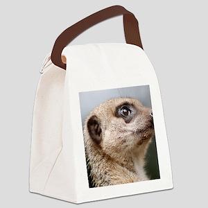 Meerkat Bag Canvas Lunch Bag