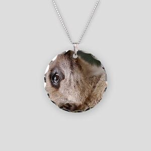 Meerkat iPad Mini Necklace Circle Charm