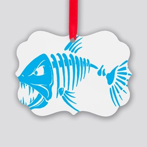 Pirate fish Picture Ornament