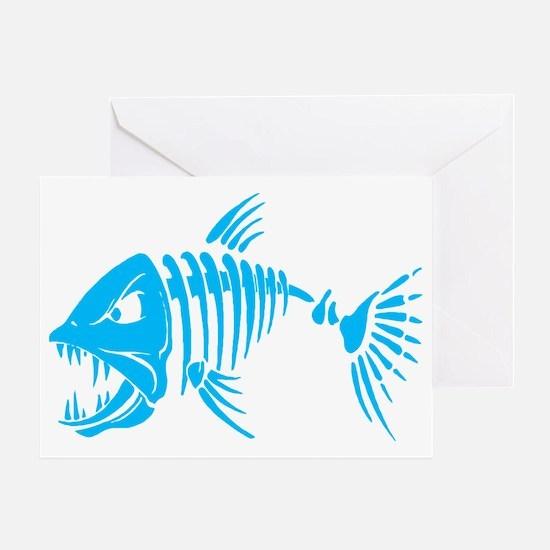 Pirate fish Greeting Card