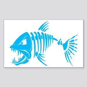 Pirate fish Sticker (Rectangle)