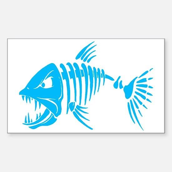 Pirate fish Sticker (Rectangle)