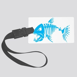Pirate fish Large Luggage Tag