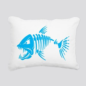 Pirate fish Rectangular Canvas Pillow