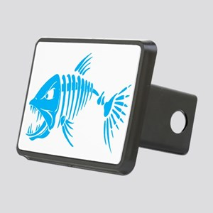 Pirate fish Rectangular Hitch Cover