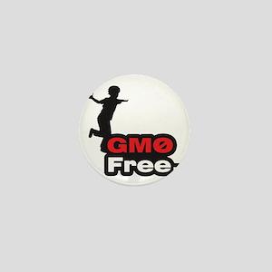 GMO Free Kid Mini Button