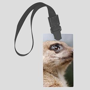 Meerkat iPad Cover Large Luggage Tag
