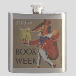 1950 Childrens Book Week Flask
