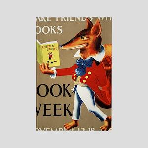 1950 Childrens Book Week Rectangle Magnet