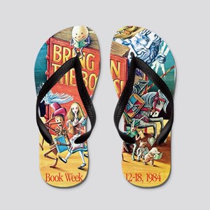 1984 Childrens Book Week Flip Flops