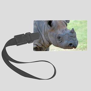 Black Rhino Bag Large Luggage Tag