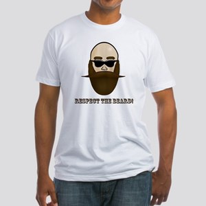 Respect the Beard! Fitted T-Shirt