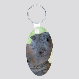 Black Rhino Nexus Phone Cas Aluminum Oval Keychain
