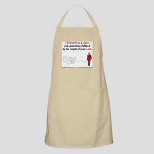 Freedom is a Right Apron