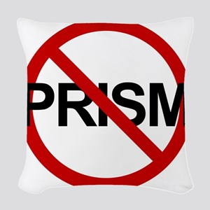 Anti PRISM Woven Throw Pillow