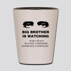 Big Brother is Watching I Shot Glass