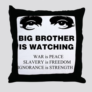 Big Brother is Watching I Throw Pillow
