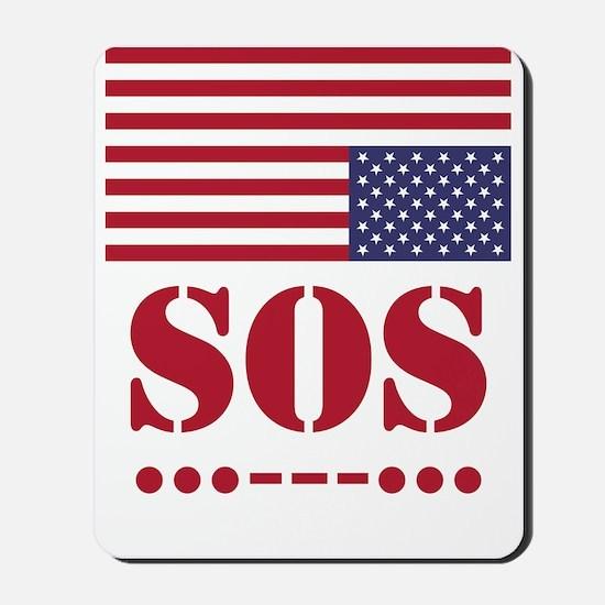 America SOS Mousepad