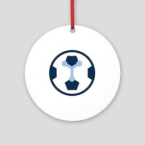 Chicago MCFC Emblem Round Ornament