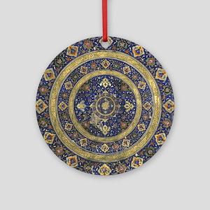 Persian Mandala Round Ornament