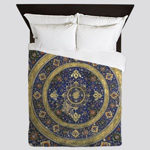 Persian Mandala Queen Duvet