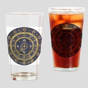 Persian Mandala Drinking Glass