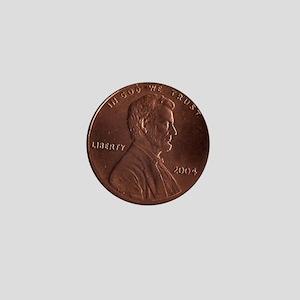 Lucky Penny Mini Button