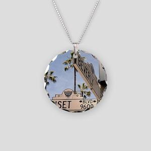 Sunset Blvd 9600 Necklace Circle Charm